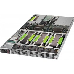 Supermicro SuperServer 1029GQ-TRT - 1U GPU Server - 2x SATA - Dual 10-Gigabit Ethernet - 2000W Redundant