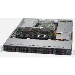 Supermicro SuperServer 1029P-WTRT - 1U - 10x SATA - Dual 10-Gigabit Ethernet - 12x DDR4 - 750W Redundant