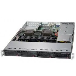 Supermicro SuperServer 6019P-WTR - 1U - 4x SATA - Dual 1-Gigabit Ethernet - 12x DDR4 - 750W Redundant